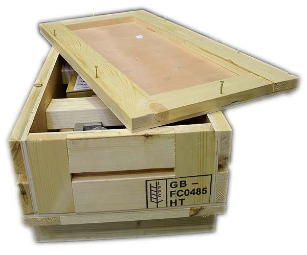wireless load shackle crate