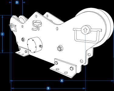 running line tensiometer dimensions