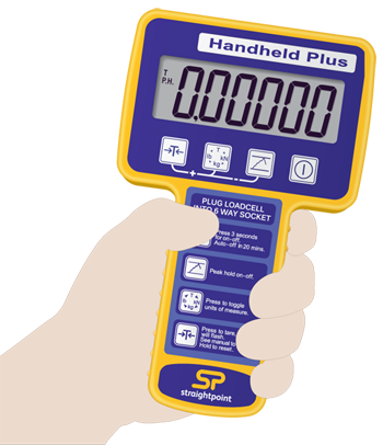 Handheld Plus | Load Cell Instrumentation