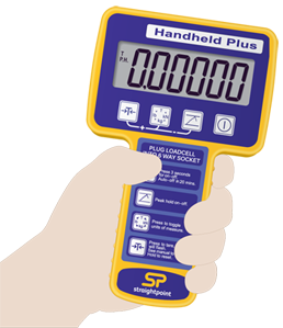 handheld plus for load cells