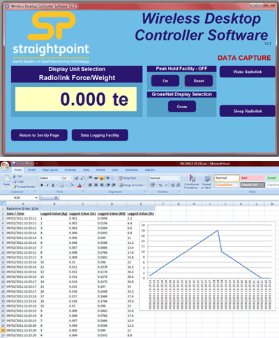 loadcell datalogging software