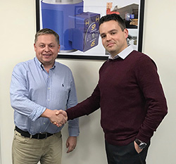 David Ayling with Phil Roch appointed marketing executive