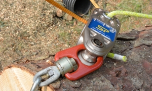 impact block load cell for arborist